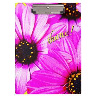 Pink/Purple Daisies, thanx! - Clipboard