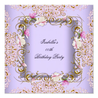 Lavender Birthday Party Invitations & Announcements  Zazzle Canada