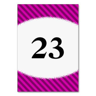 Pink/Purple Diagonal Stripes + Splatter Shape Card