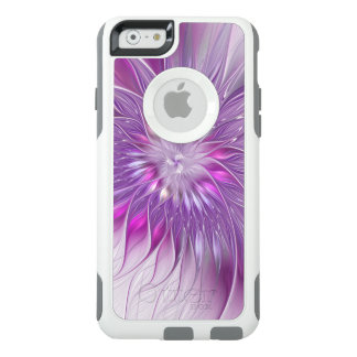 Pink Purple Flower Passion Abstract Fractal Art OtterBox iPhone 6/6s Case