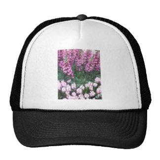 PINK Purple Flower Show Love Sensual Romance Gift Trucker Hats
