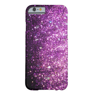 Pink Purple Glitter Sparkle iPhone 6 case Barely There iPhone 6 Case