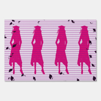 Pink & Purple Grad Silhouettes Sign