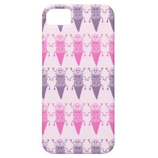 Pink & Purple Ice Cream Galore! iPhone 5 Cases