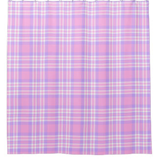 Pink Purple Lavender Plaid Gingham Check Girl