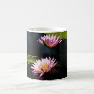 Pink Purple Lotus Waterlilies Coffee Mug