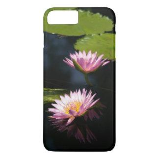Pink Purple Lotus Waterlilies iPhone 8 Plus/7 Plus Case