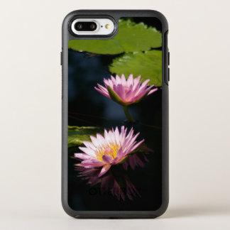 Pink Purple Lotus Waterlilies OtterBox Symmetry iPhone 8 Plus/7 Plus Case