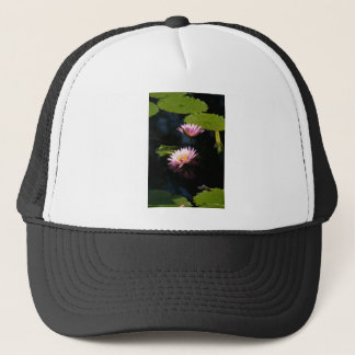Pink Purple Lotus Waterlilies Trucker Hat