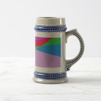 Pink Purple Minimalism Abstract Art Coffee Mugs