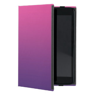 Pink & Purple Ombre Cover For iPad Mini