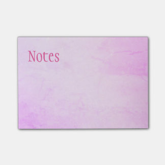 Pink & Purple Post-It Notes
