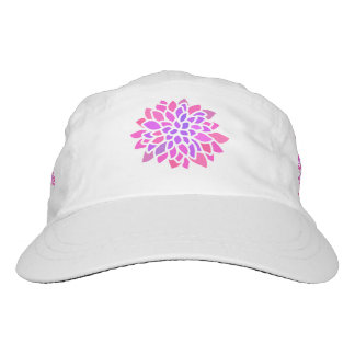 Pink Purple Retro Modern Flower Bold Hat