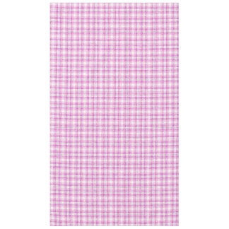 Pink & Purple Sparkly Plaid Tablecloth