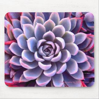 PInk & Purple Succulent Mousepad