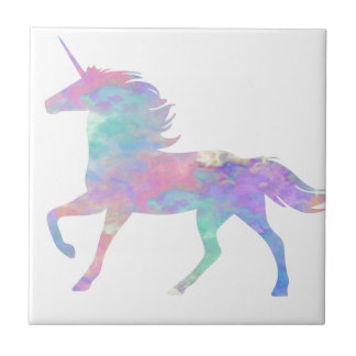 Pink Purple Unicorn Magical Tile