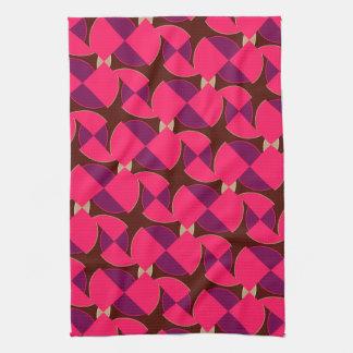 Pink Purple Watermelon Pattern Kitchen Tea Cloth