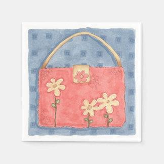 Pink Purse - Paper Napkins