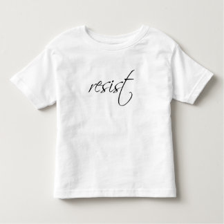 Pink Pussy Badass: Resist Toddler Fine T-Shirt