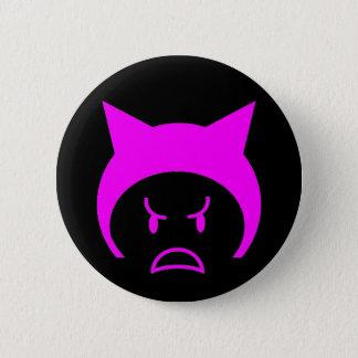 Pink pussy hat 2 inch round button