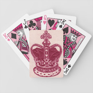 Pink Queen Bicycle Playing Cards