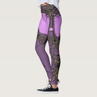 pink quween leggings