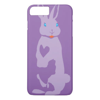 Pink rabbit iPhone 7 plus case