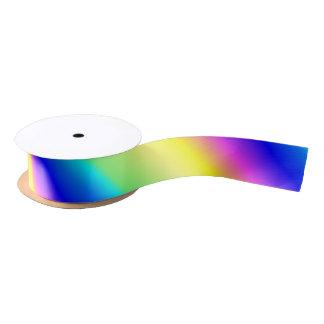 Pink Rainbow Gradient Satin Ribbon