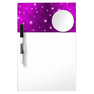 Pink Rainbow in Elephant Skin Leather Optics Dry Erase Board