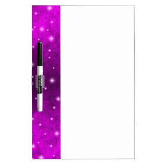 Pink Rainbow in Elephant Skin Leather optics Dry-Erase Board
