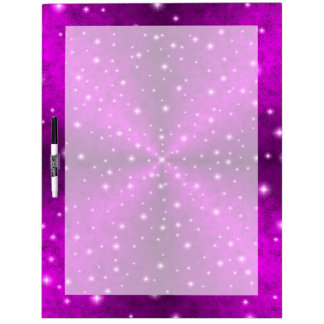 Pink Rainbow in Elephant Skin Leather Optics Dry Erase White Board