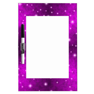 Pink Rainbow in Elephant Skin Leather Optics Dry-Erase Whiteboard