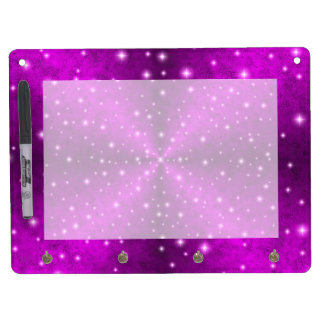 Pink Rainbow in Elephant Skin Leather Optics Dry Erase Whiteboard