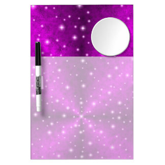 Pink Rainbow in Elephant Skin Leather Optics Dry Erase Whiteboards