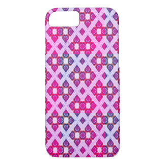 Pink Raindrops Pattern iPhone 8/7 Case