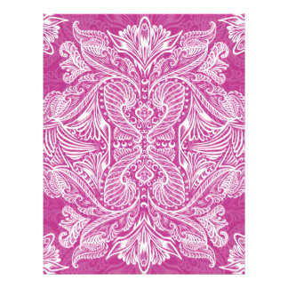 Pink, Raven of mirrors, dreams, bohemian Letterhead