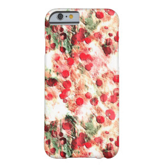 Pink Red Dirty Polka Dot Grunge Barely There iPhone 6 Case