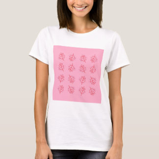 PINK  RED Seaweeds. T-shirts and more