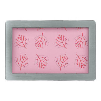 PINK  RED Seaweeds. T-shirts and more Belt Buckles