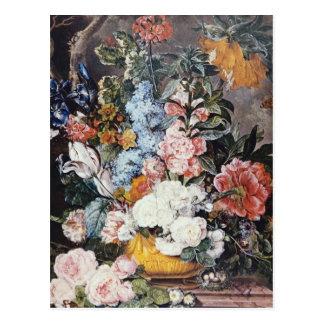 Pink Regal Splendor, Jacobus Linthorst flowers Post Card