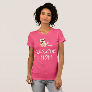 Pink Rescue Mom Shirt