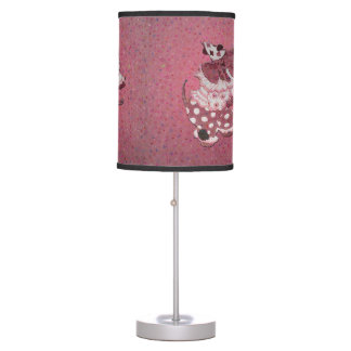 Pink Retro Circus Elephant Table Lamp