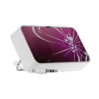 Pink Retro Speakers