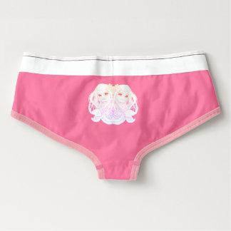 pink retro undies