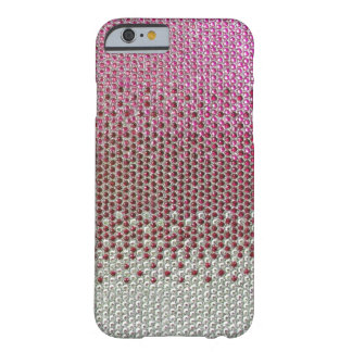 Pink Rhinestone Glitter Bling iPhone 6 case Barely There iPhone 6 Case