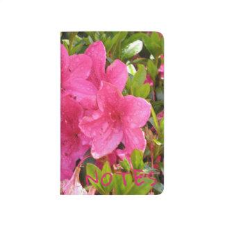 Pink Rhodies Notebook