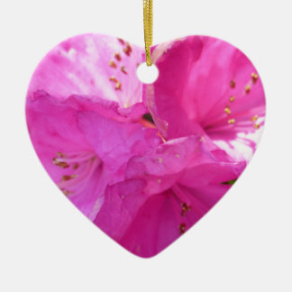 Pink rhododendron -- Amazing Ceramic Ornament