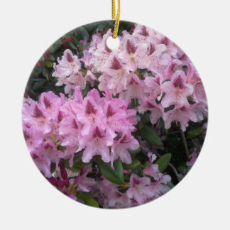 Pink Rhododendron Ornament