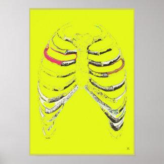 Pink Rib Poster Art