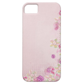 Pink Ribbon and flowers iPhone 5 Cases